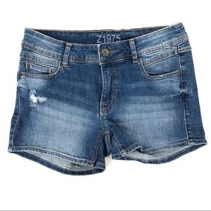 Zara Basic Short Low Rise Jeans Size 6 or 38